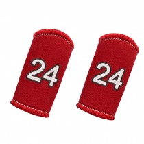 Set of 2 Premium Finger Sleeve Protector Brace Support for Basketball - KB24