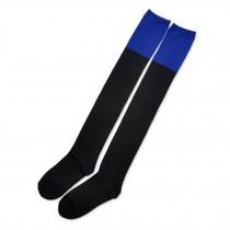 Beautiful Stockings black/blue Fashion Over Knee For Grils High Socks