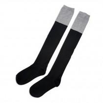Grils Over Knee Beautiful black/gray Fashion Stockings High Socks