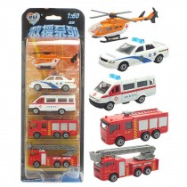 5 Car Gift Pack/ Best Gifts For Boys (Styles May Vary)     J