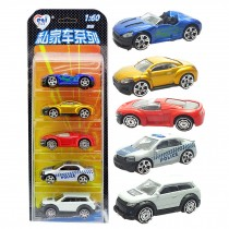 5 Car Gift Pack/ Best Gifts For Boys (Styles May Vary)    M