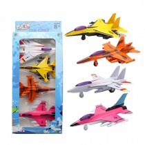 4 Airplane Model Gift Pack/ Best Gifts For Boys (Styles May Vary)