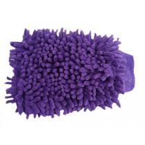 Random Color Microfiber Scratch-Free Wash Mitt Easy Car Washing Set of 2