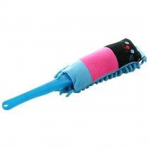 Cartoon Car Duster Brush Chenille Hairy Brush Cleaning Brush(Kitten)
