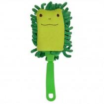 Cartoon Car Duster Brush Multi-purpose Cleaning Brush(Green Frog)