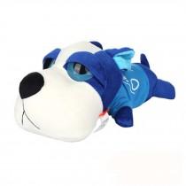 Inner Bamboo Charcoal Clean Formaldehyde Car&Home BigEye Dog ToyCleaner,blue1