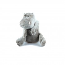 Lovely  Bamboo charcoal Doll - Car Home Air Purifying Bag(Light Colored Hippo)