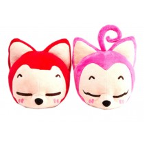 Set of 2 Lovely Cartoon Car Odor Charcoal Bag Car Air Freshener/Purifying Bag