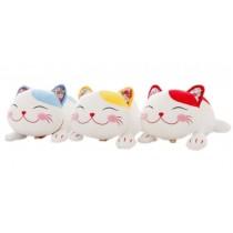 Set of 3 Lucky cat Car Odor Charcoal Bag Car Air Freshener/Purifying Bag