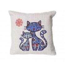 Cartoon Bamboo Charcoal Bag Car Decoration Accessories, Cat