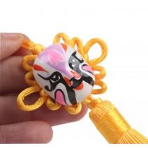 Creative Car Ornaments Chinese Knot Pendant, Yellow(Random Color)