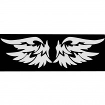 Reflective Decorative Wing Car Body Sticker Angel Wings Personality