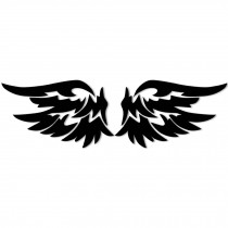Personality Reflective Decorative Wing Car Body Sticker Angel Wings