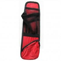 Auto Vehicle Seat Side Back Storage Pocket Backseat Organizer,RED