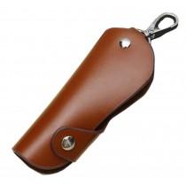 Brown Automotive Key Packs Holster Straight Keys Key Covers Car Smart Keys Chain