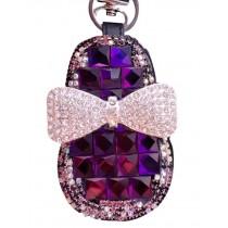 Lovely Bow Car Key Holder Decorative Key Chain Sets Zero Wallet Pendant