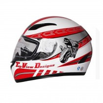 "Cool Speed Motorcycle Helmet Street Bike Full Face Helmet (XL,23""-24"")"