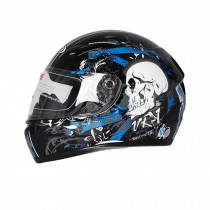"Skullcandy Motorcycle Helmet Street Bike Full Face Helmet (XL, 23""-24"")"