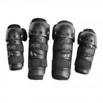 Knee/Shin Elbow/Forearm Guard Set for Racing Motocross Motocycle
