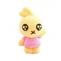 Beads mud clay dolls for Kids or Baby DIY Colorful Toy(Yellow Rabbit)