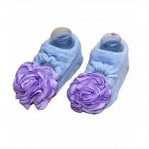 2 Pairs Infant Socks Blue Color Comfortable Socks for 6-18 Months