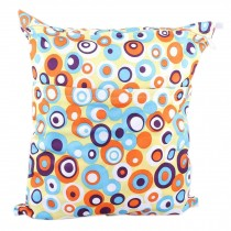 Wet Bags Waterproof Diaper Bag - Colorful Circle 14*11 inches