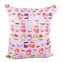 Pink Owl Wet Bags Waterproof Diaper Bag Multi-function Nappy Bag - 14*11 inches