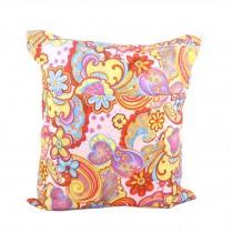 "Colorful Flowers Wet Bags Waterproof Diaper Bag Multi-function Nappy Bag-14""*11"""