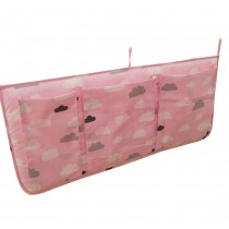 Pink Cloud,Multi-function Receive Bag/Diaper Stacker High-capacity, 62*28cm
