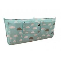 Green,Multi-function Receive Bag/Diaper Stacker High-capacity, 62*28cm