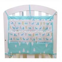 Lovely Animal Infant Bedside Multilayer Pouch Storage Bag Diaper Bag