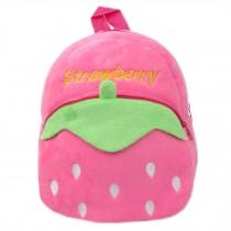 Lovely Strawberry Baby Mini Backpack Infant Lunch Bag Toddler Shoulder 1-4Y