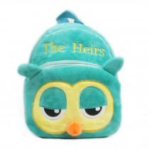 Lovely OWL Baby Mini Backpack Infant Lunch Bag Toddler Shoulder Green 1-4Y