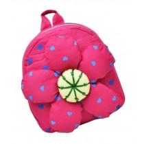 Fashion Infant Knapsack Toddle Backpack Kindergarten School Bag Pink Flower