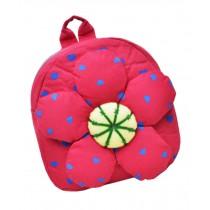 Fashion Infant Knapsack Toddle Backpack Kindergarten School Bag Red Flower