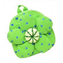 Fashion Infant Knapsack Toddle Backpack Kindergarten School Bag Green Flower