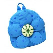 Fashion Infant Knapsack Toddle Backpack Kindergarten School Bag Blue Flower