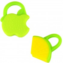 WATERMELON&APPLE Newborn Infant Training Soft Teeting Baby Relieving Teether