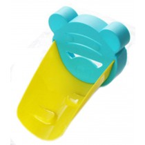 Colorful Water Faucet Extender Extending Faucet Hand Green&Yellow