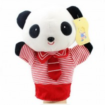 Cartoon hand puppet preschool educational toys for Toddler(Cute Panda)
