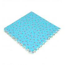 Joint Mat Interlocking Foam Mats EVA Foam Floor Mats (1 Tiles) Rose Blue