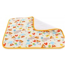 Toddler Waterproof Washable Diaper Changing Mat Pad(White Bear)-50*70cm