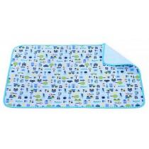 Toddler Waterproof Washable Diaper Changing Mat Pad(Cute Car)-50*70cm