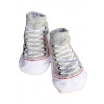 Toddler Non-Slip Infant Socks /Baby Stockings/ Newborn Infant Shoes Light Green