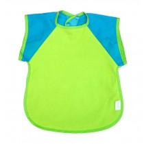 Cotton Waterproof Short Sleeved Bib Baby Feeding Smock Random Color, 3-5 Years