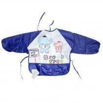 Blue Elephant Baby Bib Neck Strap Toddlers Apron, 1-3 Years