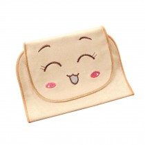 Cute Face Cartoon Baby Towels Soft Cotton Material Babies Towel, 32x24cm