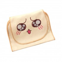 Well Design Baby Sweat Absorbent Towels with Cute Cartoon Pattern, L