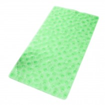 Baby Infant Bathing Mat Toddler Non-slip Ground PVC Rugs GREEN 70*35CM