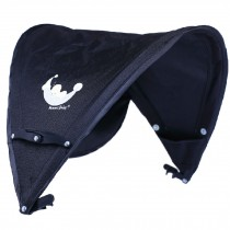Baby Stroller Sunshade Maker Infant Stroller Canopy Cover Half [BLACK]